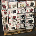We sell graded electrical appliance returns