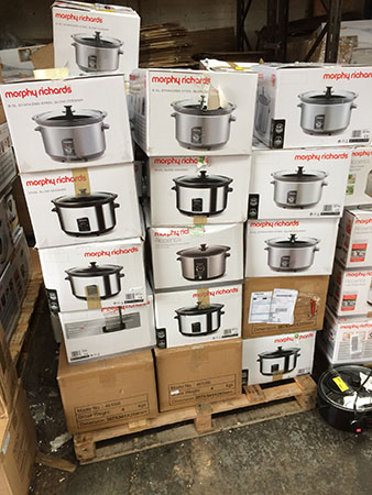 Branded Housewares - Stock Updates - Morphy Richards slow cookers ?5 each!