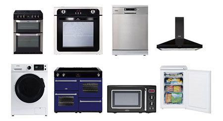 Buy white goods wholesale large appliance stock