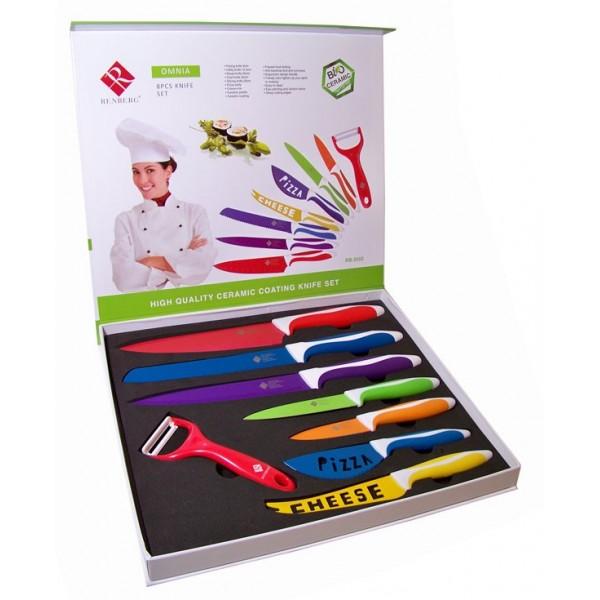 Coloured Knife Set