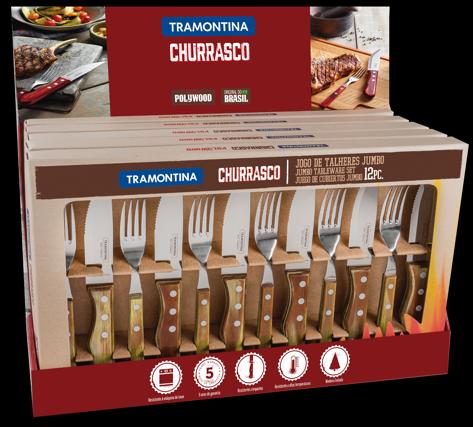 6 Steak Knives & 6 Forks