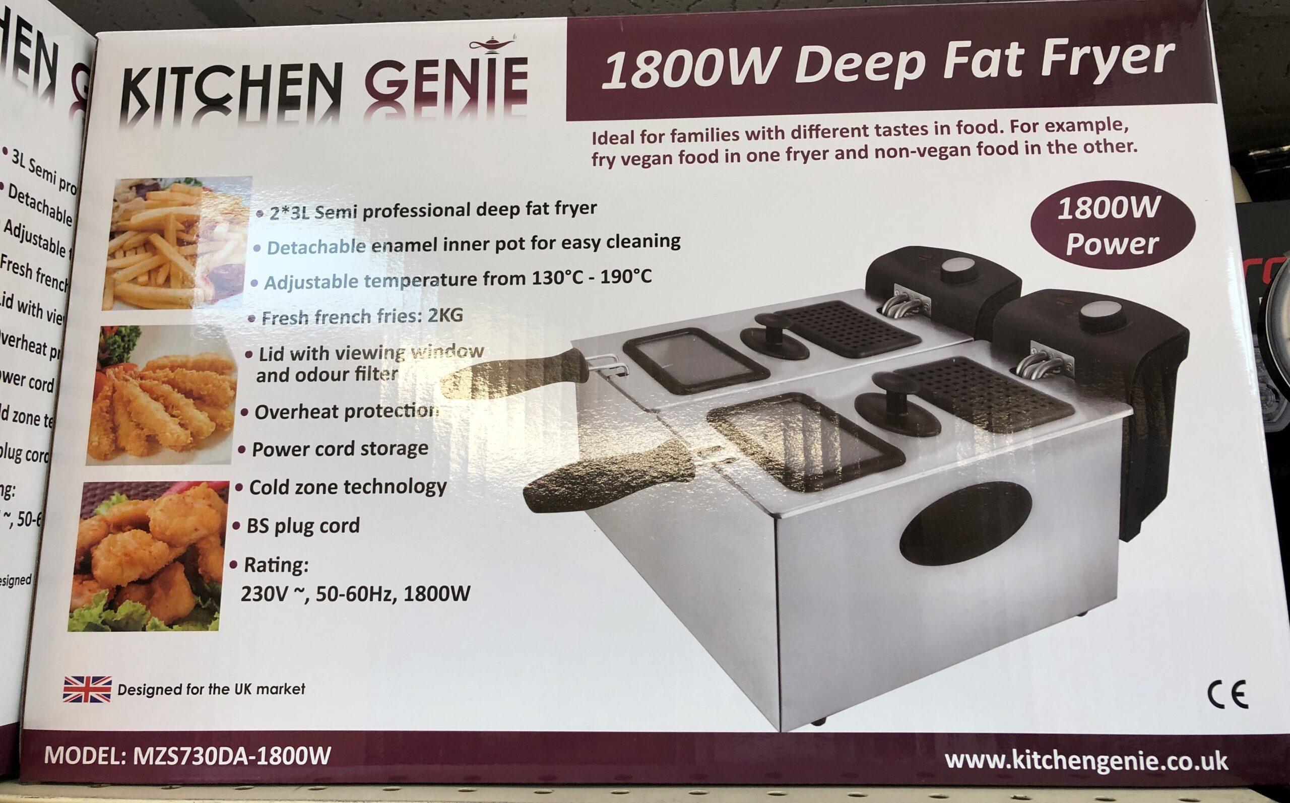 Double Deep Fat Fryer