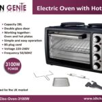 Oven with Two Hot Plates