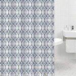 Shower Curtain + Bath Mat Set